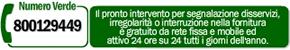 Numero verde informazioni generiche